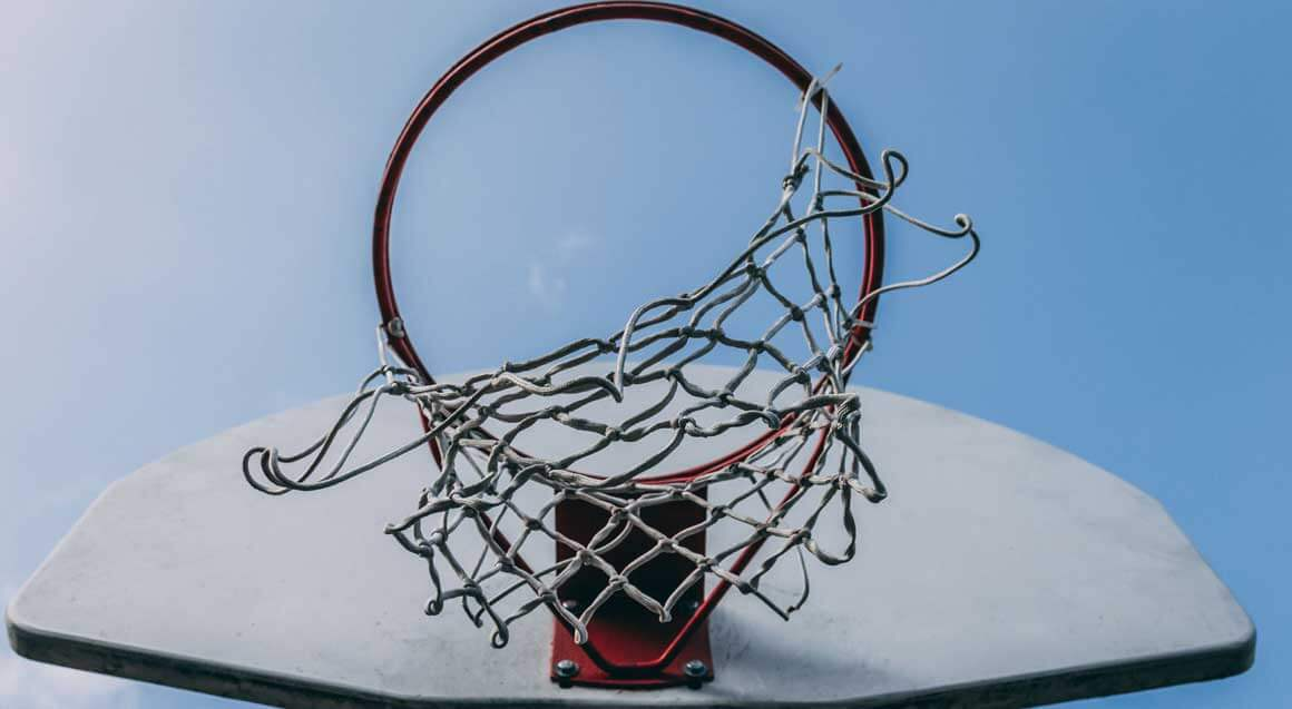 How to attach a basketball net
