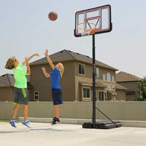 Lifetime 1269 Pro Court Portable Basketball Hoop