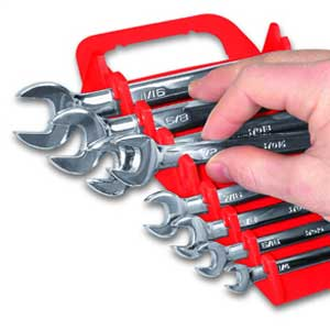 Gripper Wrench Organizer by Ernst Manufacturing