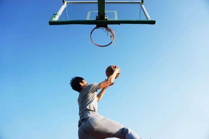Lifetime Basketball Hoop In Ground installation image
